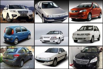 قیمت خودرو در بازار امروز | جدول مقایسه قیمت ها