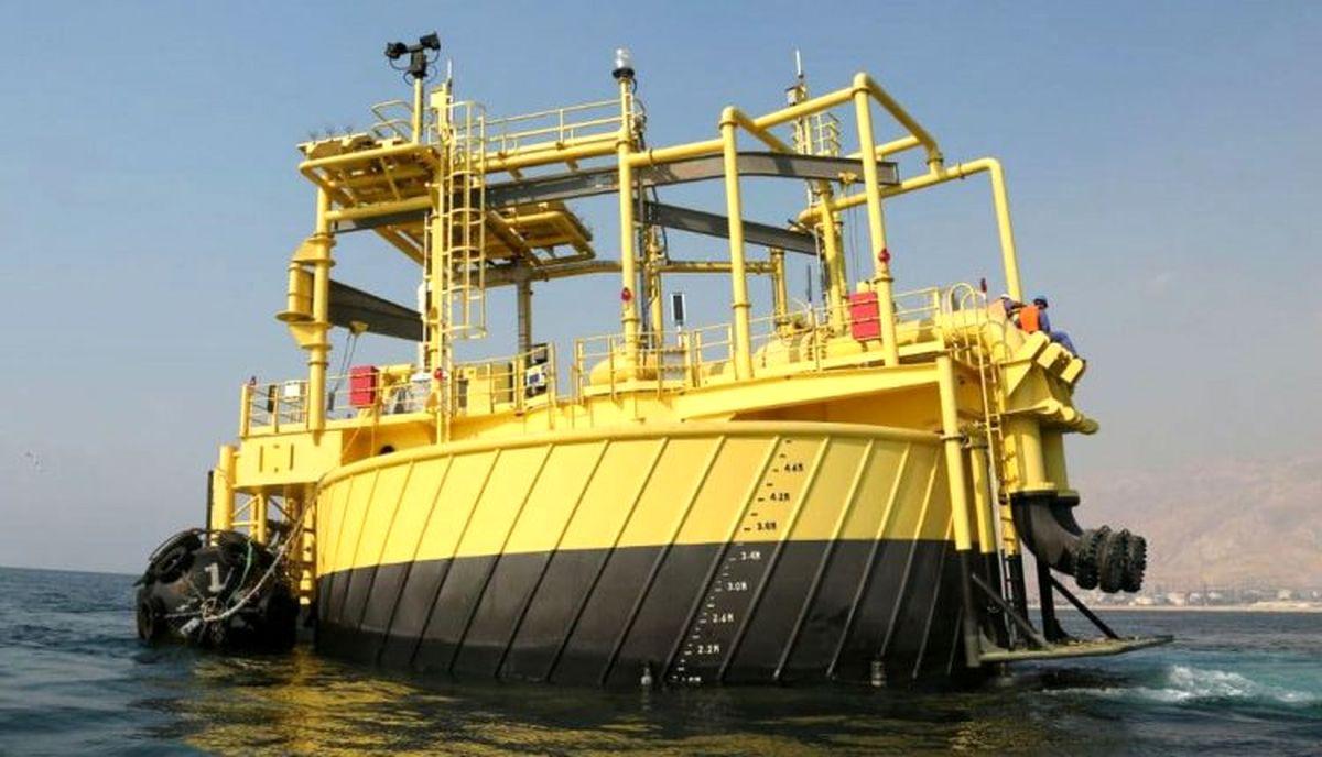 دومین گوی شناور صادرات میعانات گازی سایت دو پارس جنوبی نصب شد