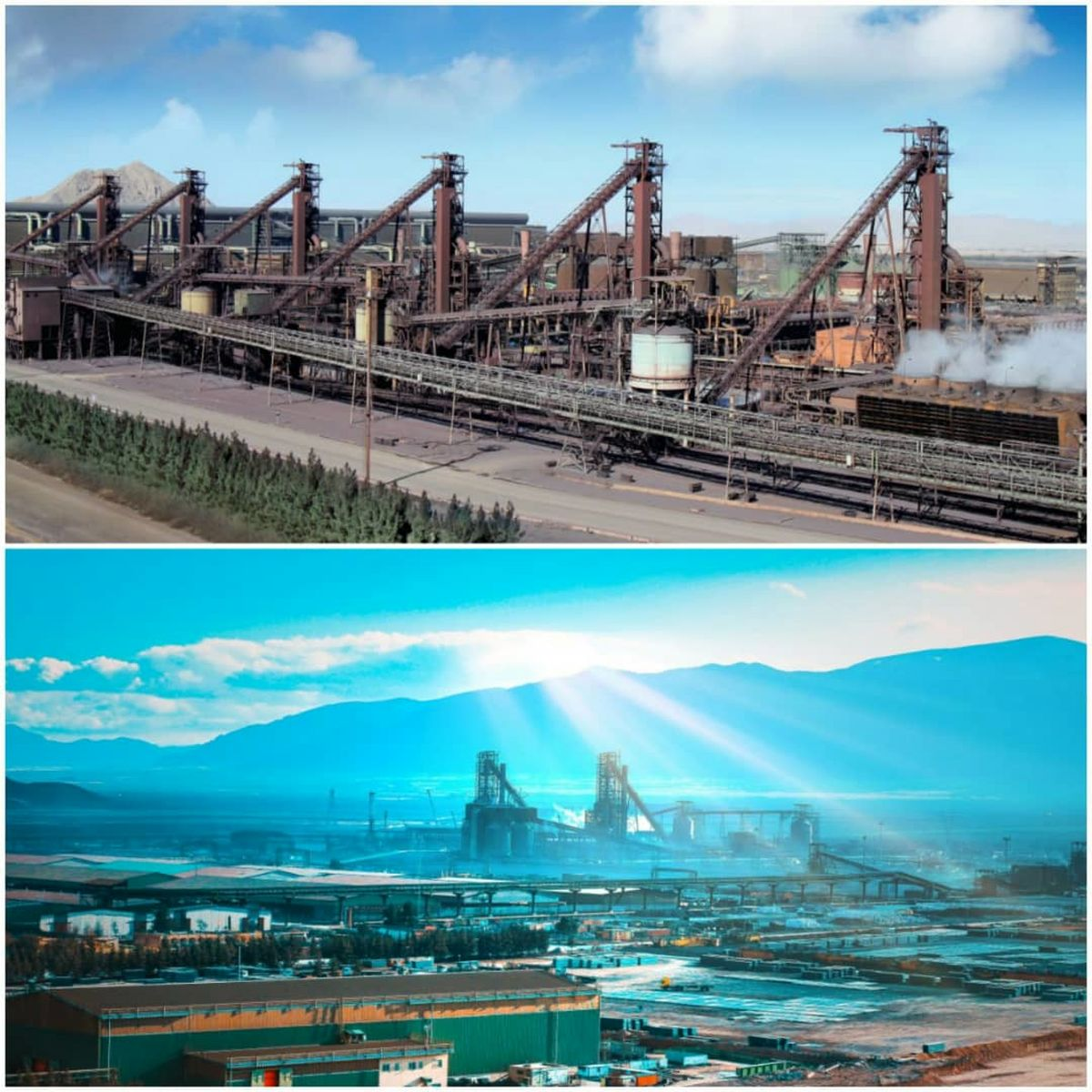 عبور از مرز تولید روزانه ۲۵ هزار تن آهن اسفنجی در شرکت فولادمبارکه
