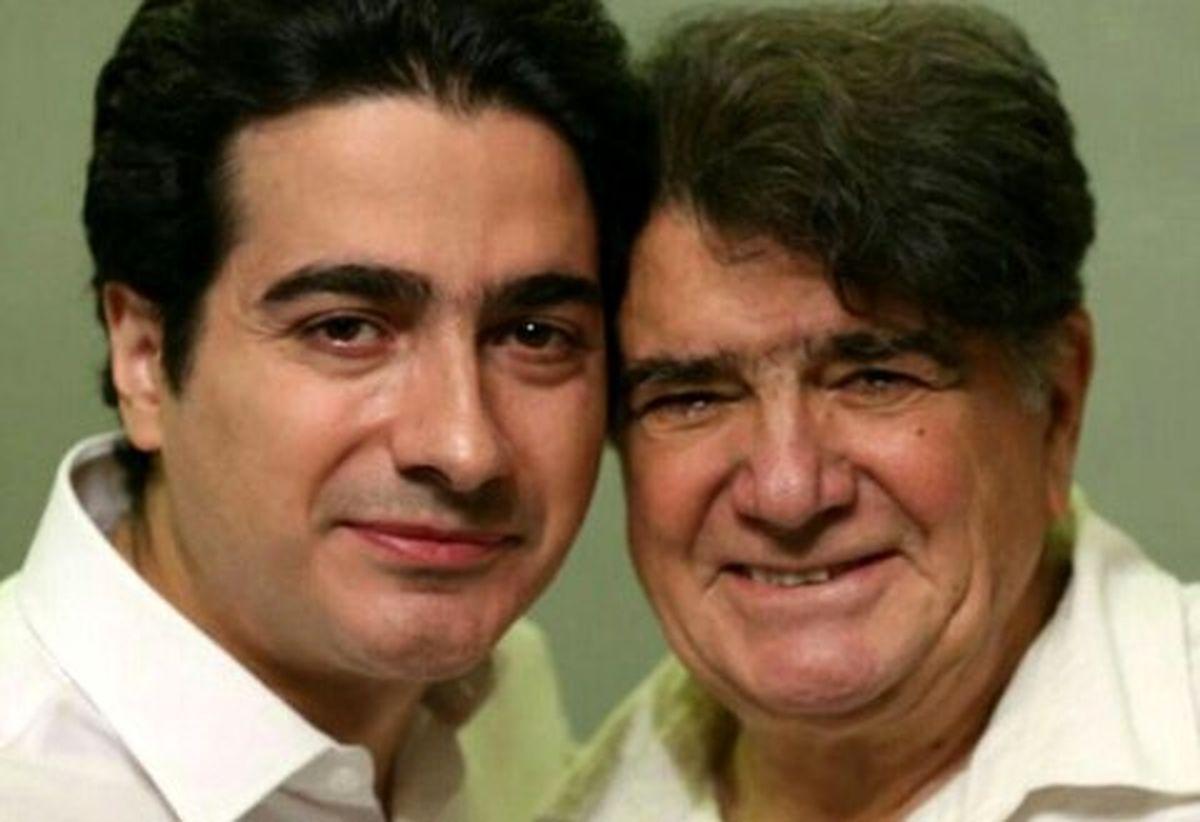 اشک های همایون شجریان بر سر مزار پدر + عکس