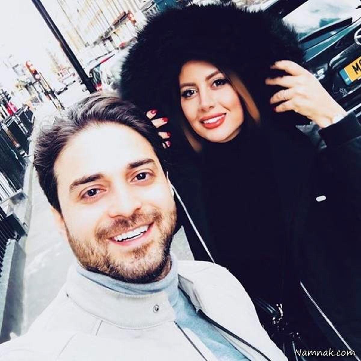 عکس های جشن تولد خصوصی دختر بابک جهانبخش   بابک جهانبخش و همسرش