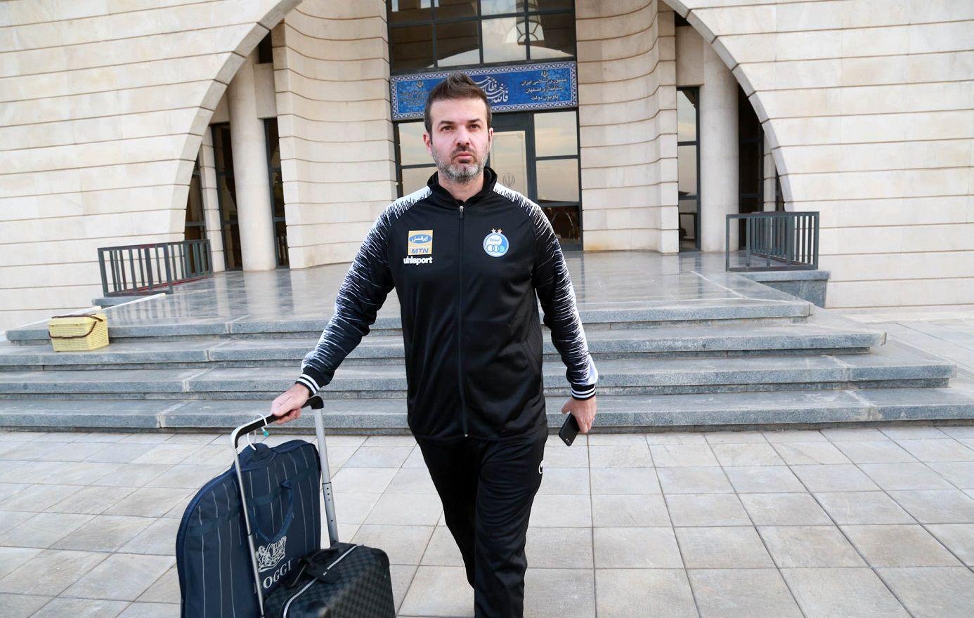 ساعت ورود استراماچونی به تهران مشخص شد