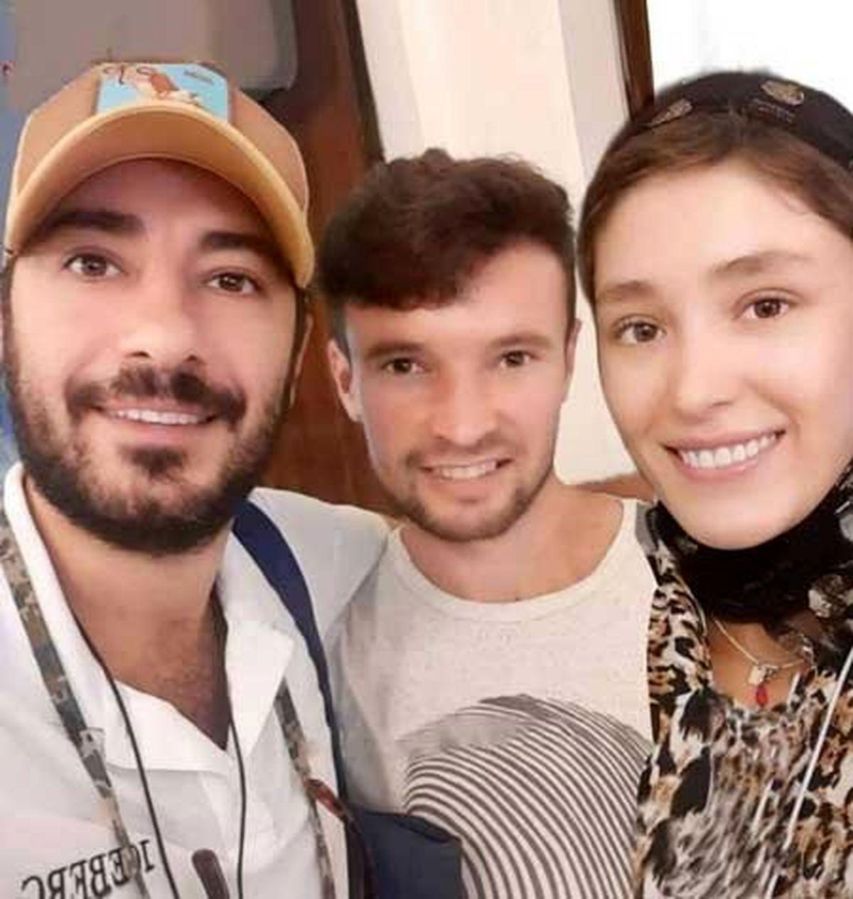 بیوگرافی نوید محمدزاده و همسرش + عکس