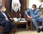 جلسه مدیریت مجتمع سنگ آهن سنگان با مدیر کل تامین اجتماعی خراسان رضوی