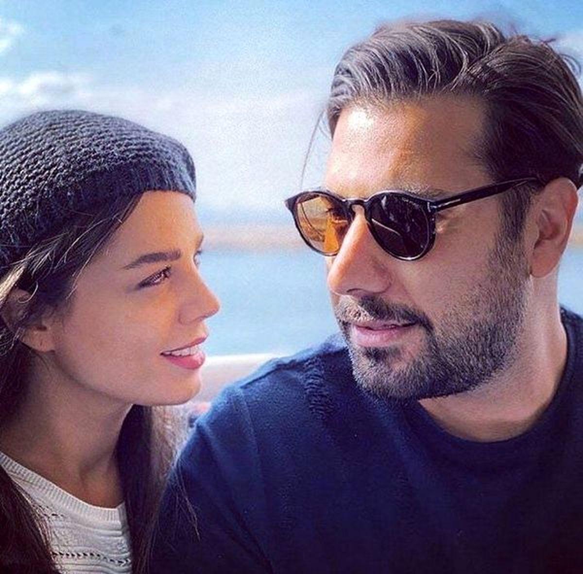 پست عاشقانه خواننده معروف جنجال به پا کرد + عکس