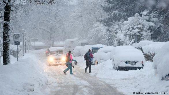 اخطار هواشناسی درباره بارشبرف سنگین در چند استان