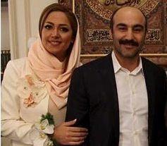 عکس های لو رفته از مراسم ازدواج محسن تنابنده و همسرش + تصاویر