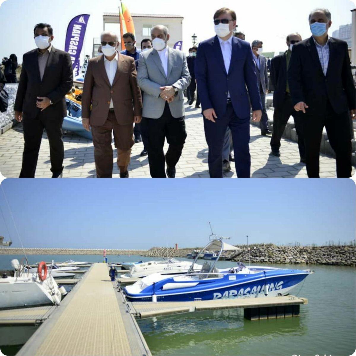 14 پروژه با 410 میلیارد تومان اعتبار درمنطقه آزاد انزلی افتتاح شد