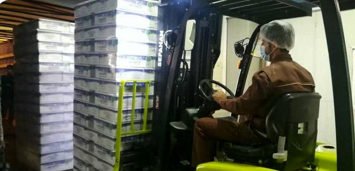 صادرات شیرخشک نوزاد به کویت و افغانستان