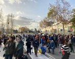 تظاهرات دردساز در الکلاسیکو + عکس