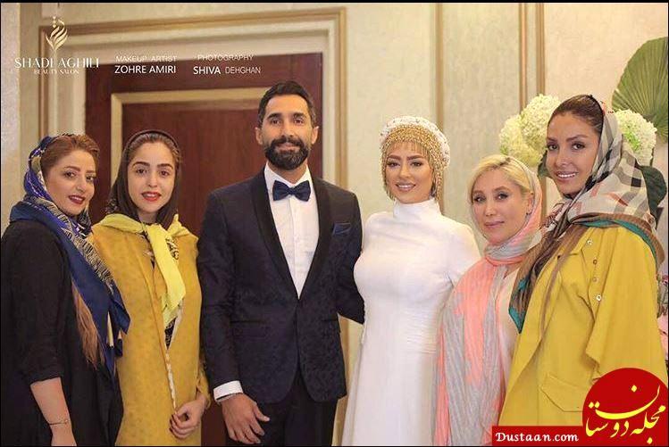 تصاویر عروسی سمانه پاکدل و هادی کاظمی