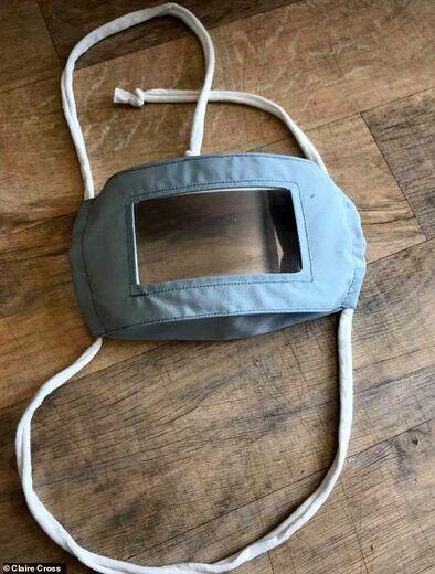 ماسک ویژه برای افراد ناشنوا + عکس