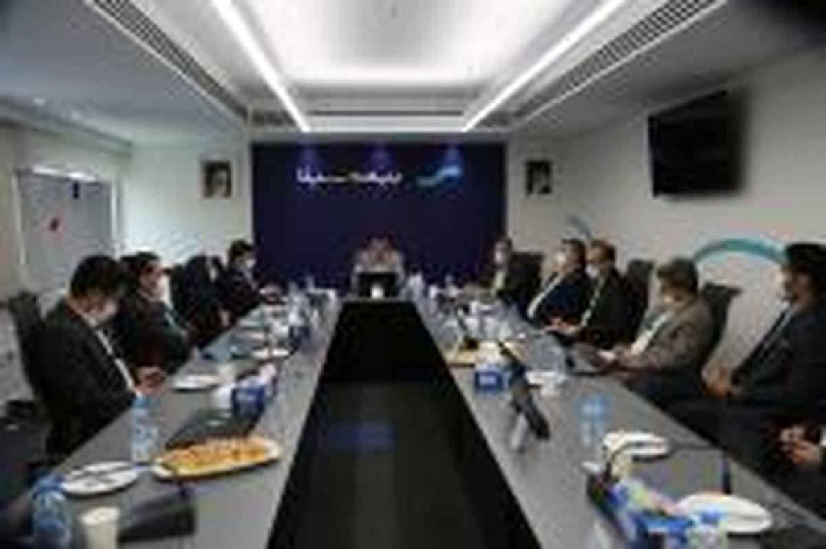 نشست شورای مدیران بیمه سینا برگزار شد