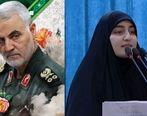 روایت دختر سردار سلیمانی از وصیت پدرش + عکس