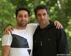 منوچهر هادی و همسرش در جشن تولد لاکچری بازیگر سریال دل + تصاویر