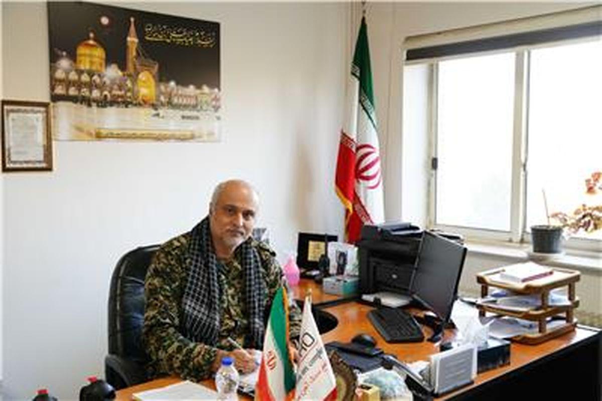 پیام تبریک مهندس اسماعیل زاده به مناسبت هفته بسیج