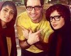 گلشیفته فراهانی ، ترانه علیدوستی و پگاه اهنگرانی در کنار اقای کارگردان + عکس دیده نشده