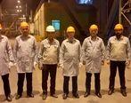 بازدید سرپرست معاونت اعتبارات بانک مهر اقتصاد از شرکت فولاد مبارکه