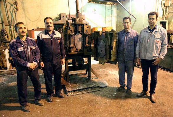 دریچه کشویی پاتیل های فولاد در ذوب آهن اصفهان بومی سازی شد
