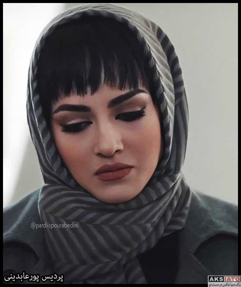 پردیس پورعابدینی بازیگر نقش راضیه و مانلی در سریال آقازاده (6 عکس ...