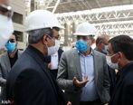 تصاویر: بازدید دبیر شورایعالی مناطق آزاد از ترمینال جدید فرودگاه کیش