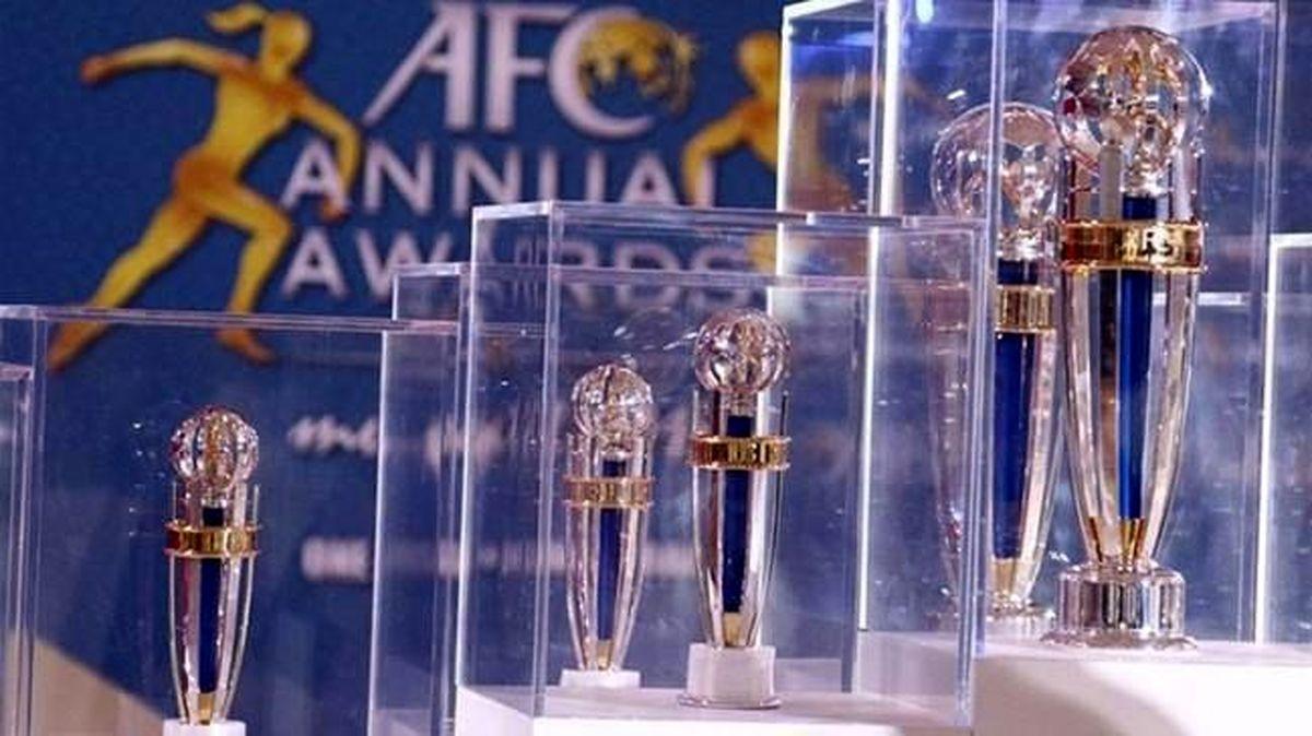 ساعت پخش مراسم برترینهای سال فوتبال آسیا