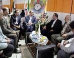 بازدید رئیس هیات مدیره و مدیرعامل بیمه ایران از نمایشگاه الکامپ
