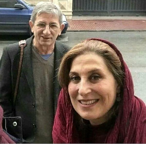 سلفی فاطمه معتمد آریا و همسرش با خیابان های تهران + عکس