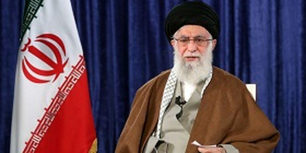 سخنرانی تلویزیونی مقام معظم رهبری در روز عید سعید قربان