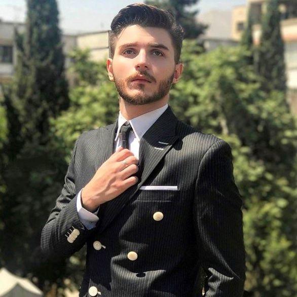عکس لورفته از دارا حیایی پسر امین حیایی در لباس دامادی + بیوگرافی