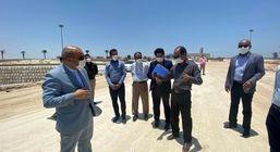 بازدید مدیرعامل منطقه آزاد قشم از پروژه ها و طرح های سطح شهر قشم