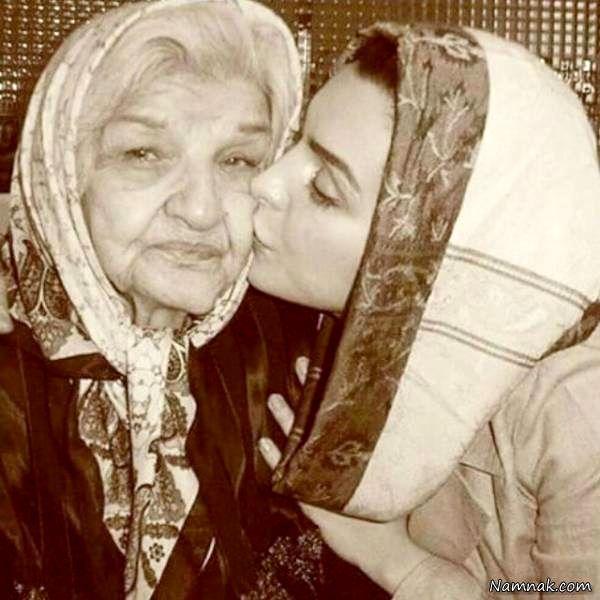 ماه چهره خلیلی و مادر بزرگش