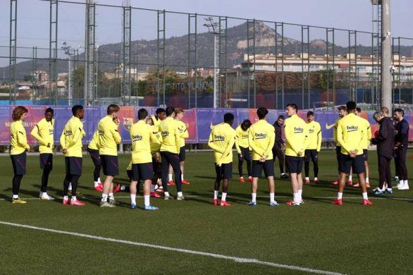 دعوای شدید و جنجالی بین دو ستاره بارسلونا در تمرین!