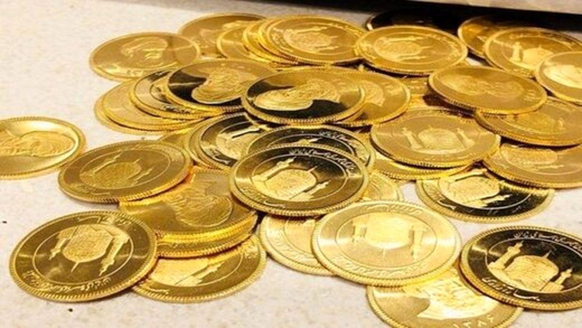 ریزش قیمتها در بازار طلا و سکه