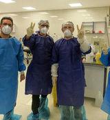بخش بیماران کرونا در بیمارستان فرقانی قم + تصاویر