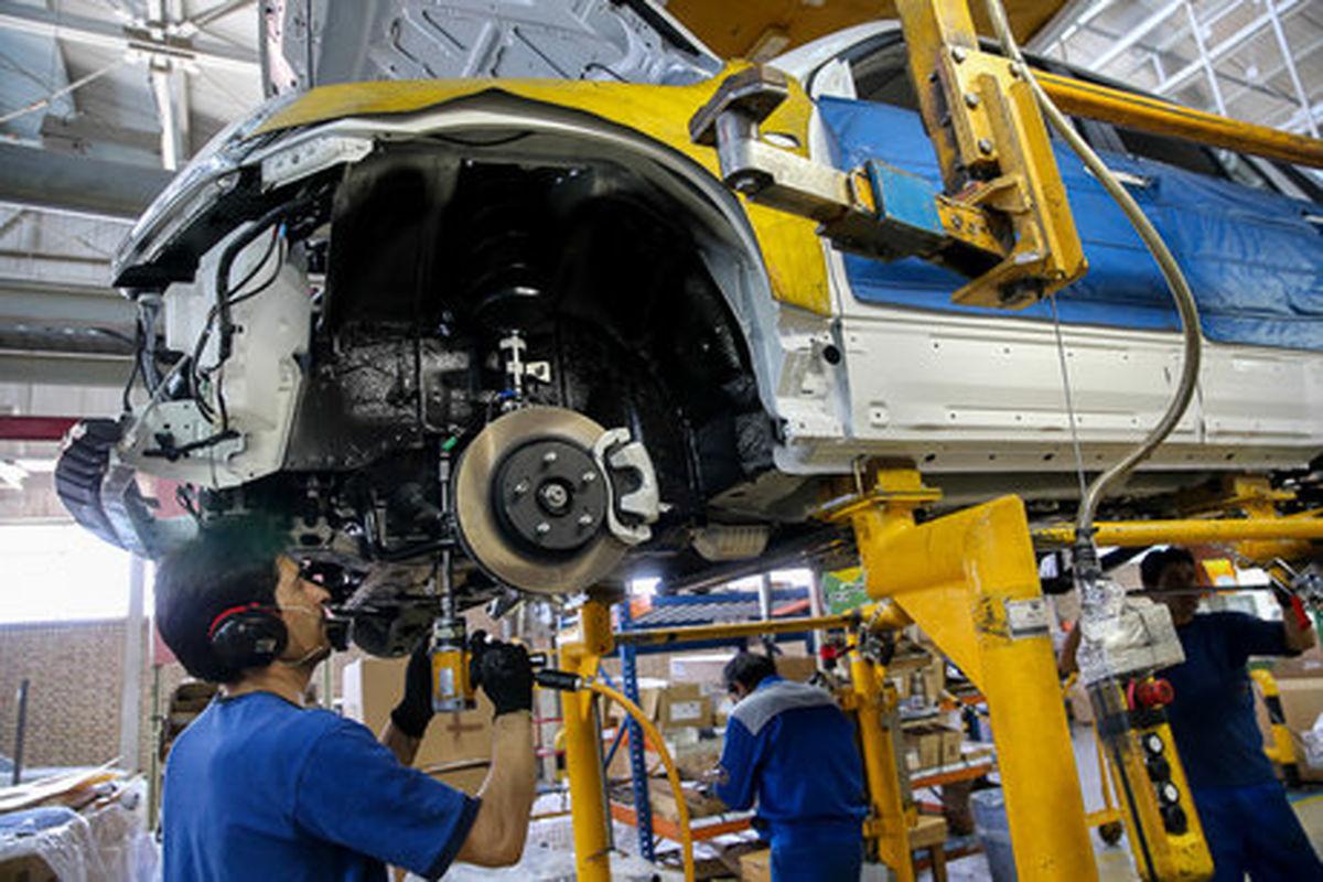 تولید بیش از ۴۳ هزار دستگاه خودرو در ایران خودرو خراسان