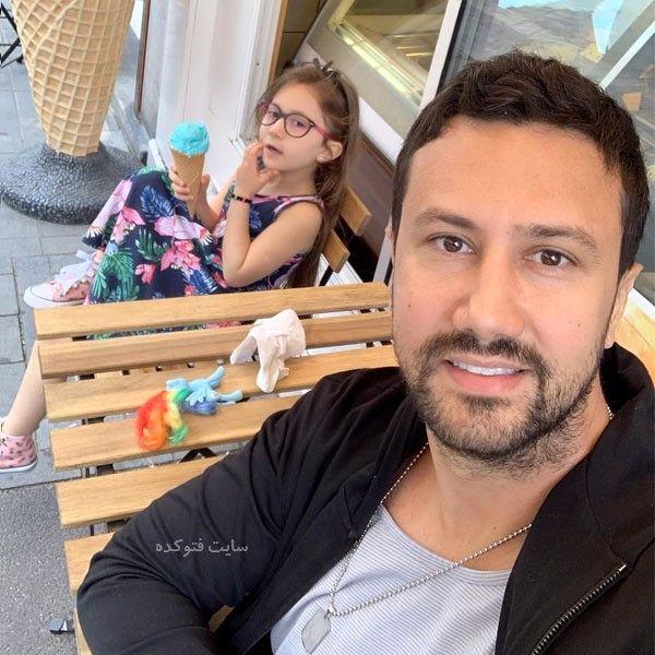 Shahrokh Estakhri و دخترش پناه