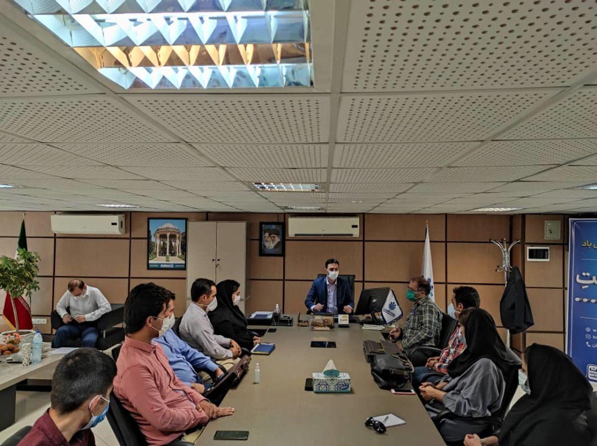 برگزاری نشست هم اندیشی نمایندگان بیمه حکمت در شهر شیراز