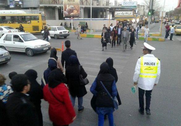 ۱۵۰ همیار ترافیک در شیراز فعال هستند