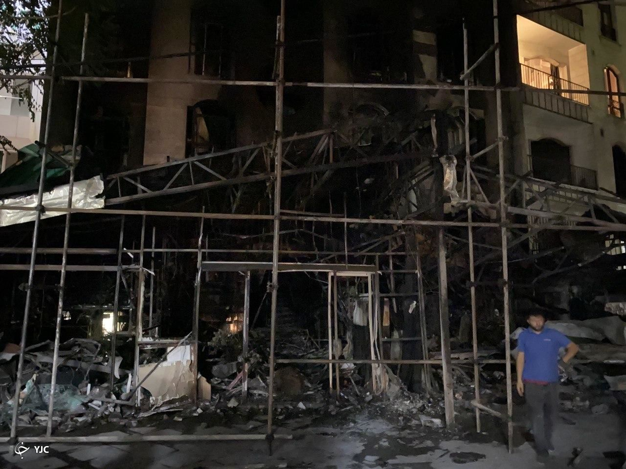 جزئیات حادثه انفجار در کلینیک سینا + تصاویر