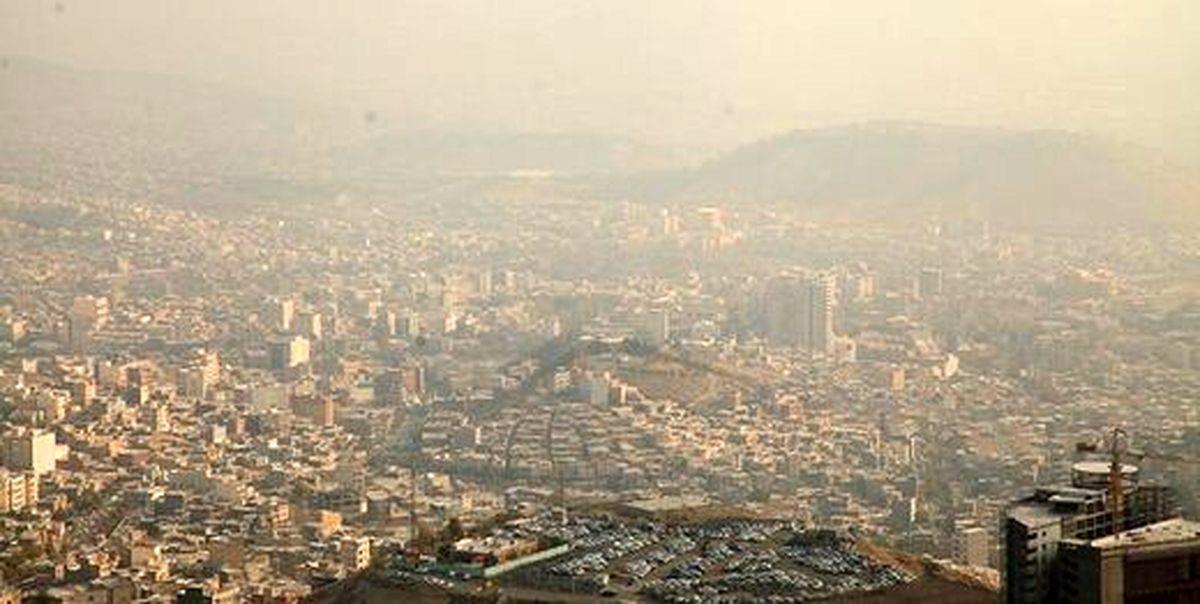 آلودگی هوای تهران و کلانشهرها
