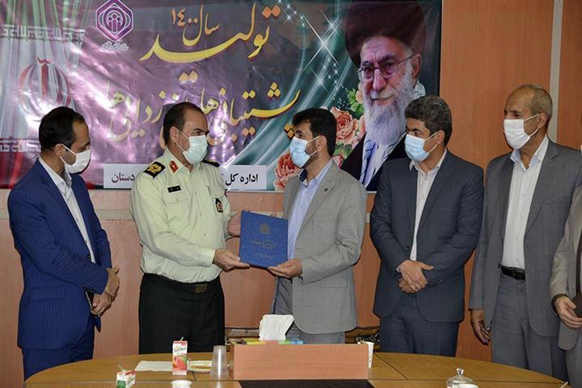دیدار فرمانده انتظامی کردستان با مدیرکل تامین اجتماعی استان