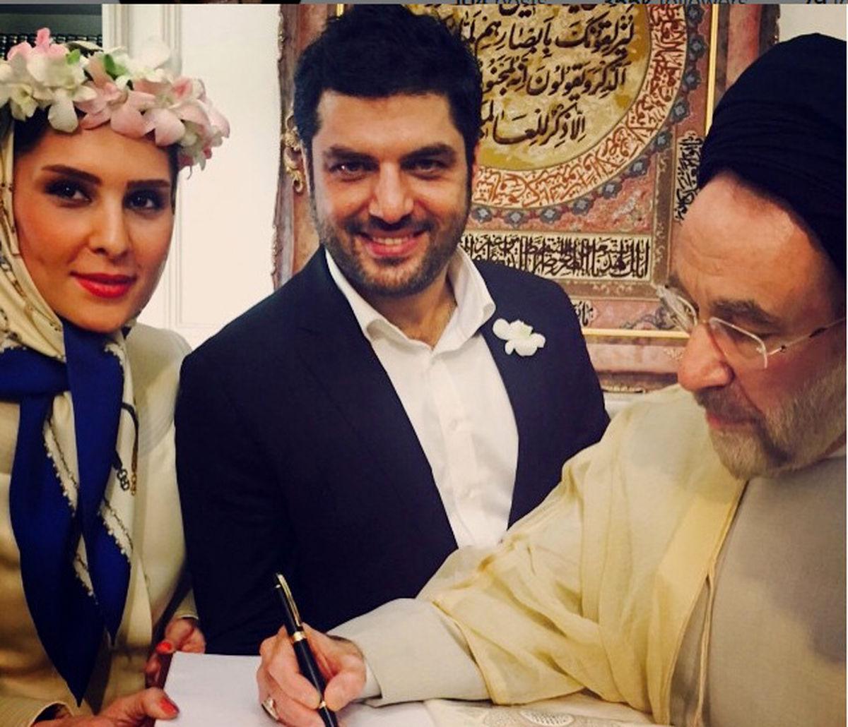اولین عکس از پسر سام درخشانی   ماجرای ازدواج سام درخشانی و همسرش