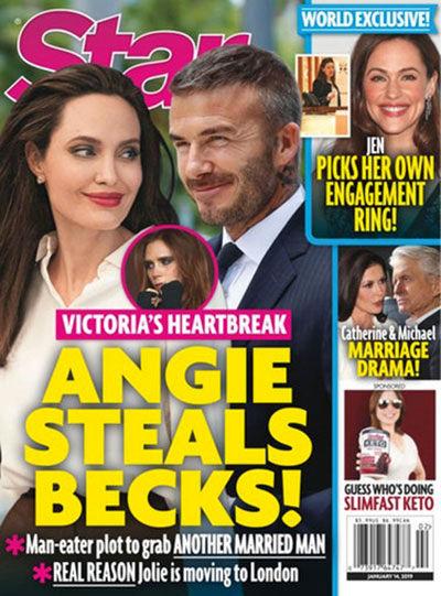 ماجرای جنجالی ازدواج آنجلینا جولی و دیوید بکهام چیست؟ + عکس
