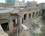 تخریب عمارت رئیسالتجار در نیشابور