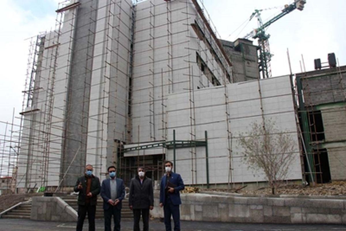 مشارکت بانک رفاه کارگران در ساخت مرکز جامع سرطان غرب کشور