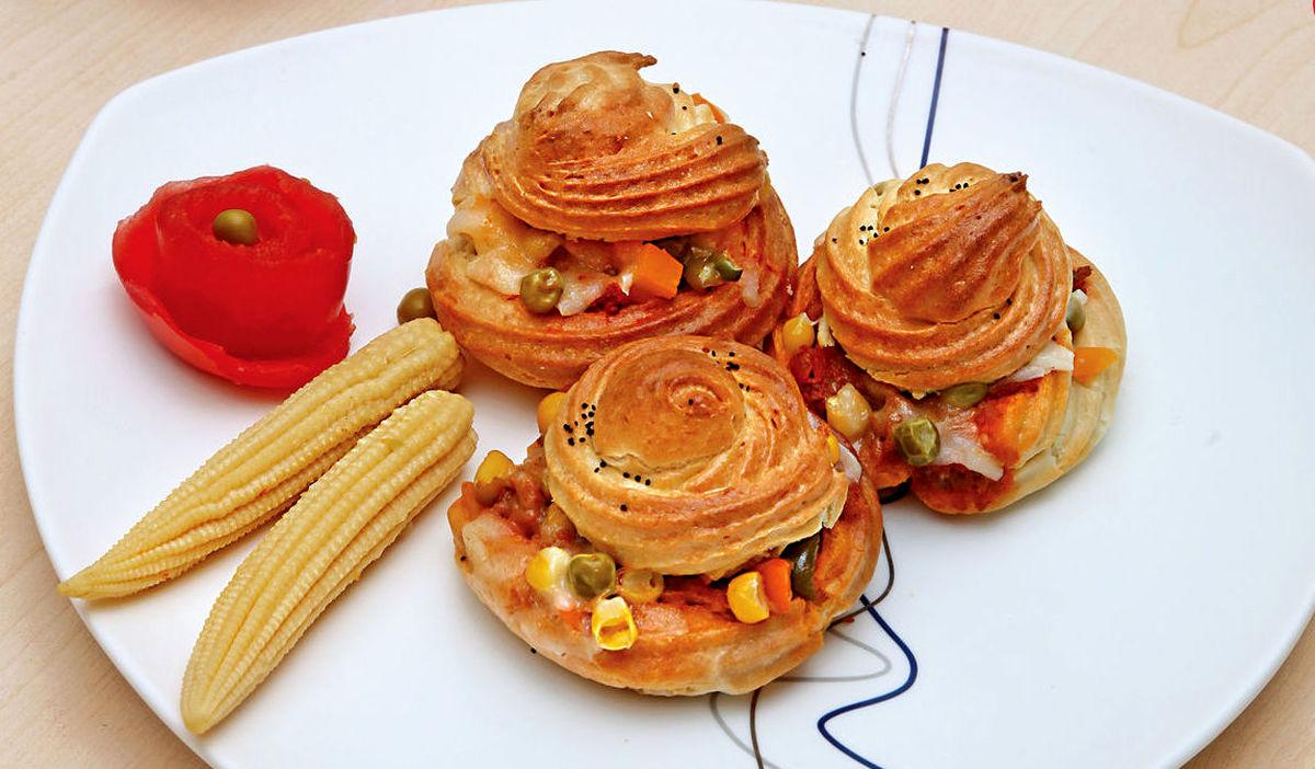 آموزش و طرز تهیه پیتزای نارنجکی