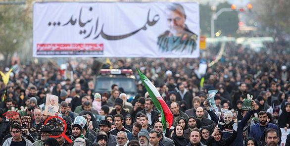 چهره های حاضر در تشییع پیکر سردار سلیمانی + عکس