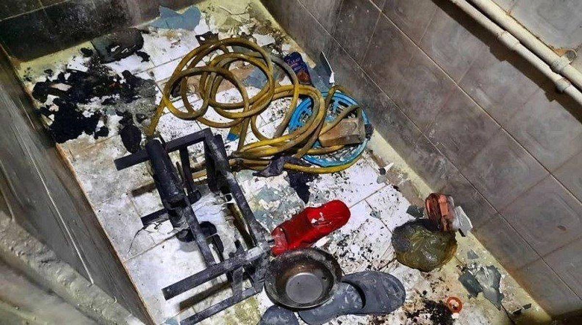 زنده زنده سوختن پدر و پسر تهرانی در حمام + عکس+16