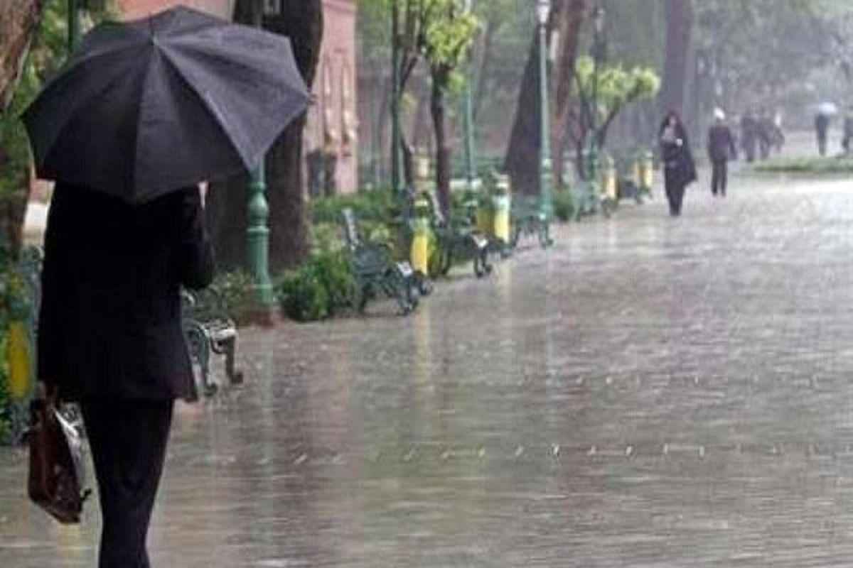 هواشناسی/ بارش باران در 15 استان